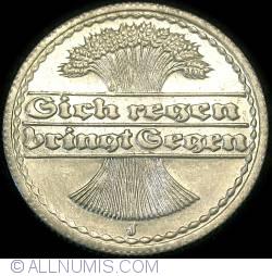 50 Pfennig 1921 J
