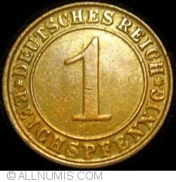 Image #1 of 1 Reichspfennig 1924 D