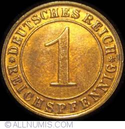 Image #1 of 1 Reichspfennig 1931 D