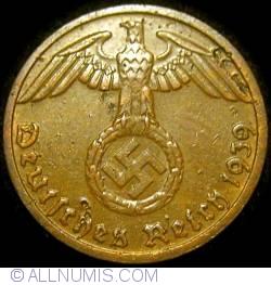 Image #2 of 1 Reichspfennig 1939 D