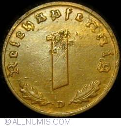 Image #1 of 1 Reichspfennig 1939 D