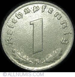 Image #1 of 1 Reichspfennig 1943 G