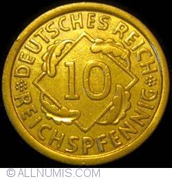 Image #1 of 10 Reichspfennig 1930 E