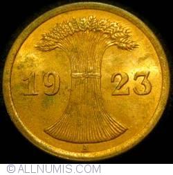 Image #2 of 2 Rentenpfennig 1923 A