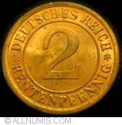 Image #1 of 2 Rentenpfennig 1923 A