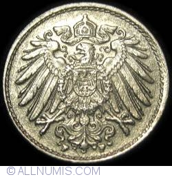 Image #2 of 5 Pfennig 1919 F
