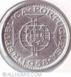 Image #2 of 6 Escudos 1958