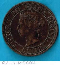 Image #2 of 1 Cent 1876 H