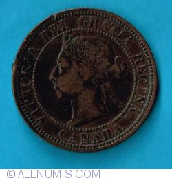 Image #2 of 1 Cent 1890 H