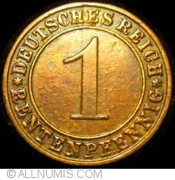Image #1 of 1 Rentenpfennig 1923 A