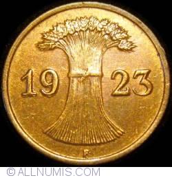 Image #2 of 1 Rentenpfennig 1923 F