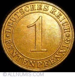 Image #1 of 1 Rentenpfennig 1923 F