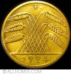 Image #2 of 10 Reichspfennig 1924 E
