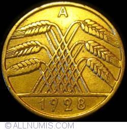 Image #2 of 10 Reichspfennig 1928 A