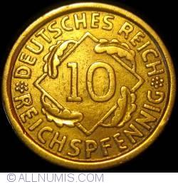 Image #1 of 10 Reichspfennig 1928 A