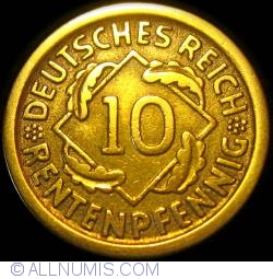 Image #1 of 10 Rentenpfennig 1924 D