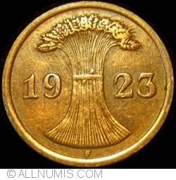 Image #2 of 2 Rentenpfennig 1923 F