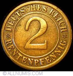 Image #1 of 2 Rentenpfennig 1923 F