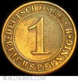 Image #1 of 1 Reichspfennig 1930 A