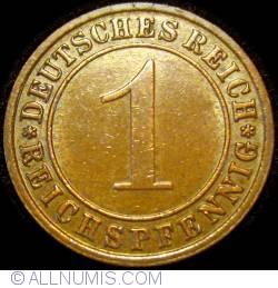 Image #1 of 1 Reichspfennig 1930 F
