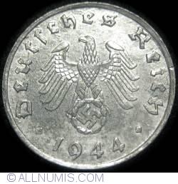 Image #2 of 1 Reichspfennig 1944 G