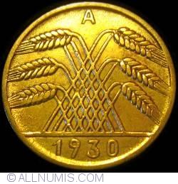 Image #2 of 10 Reichspfennig 1930 A
