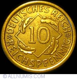 Image #1 of 10 Reichspfennig 1930 A