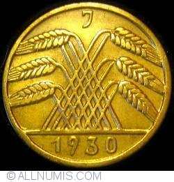 Image #2 of 10 Reichspfennig 1930 J