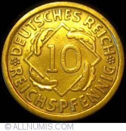Image #1 of 10 Reichspfennig 1930 J