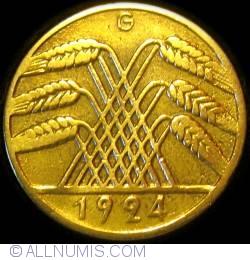 Image #2 of 10 Rentenpfennig 1924 G