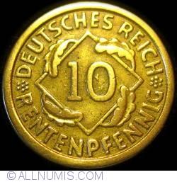 Image #1 of 10 Rentenpfennig 1924 G