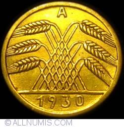 Image #2 of 5 Reichspfennig 1930 A
