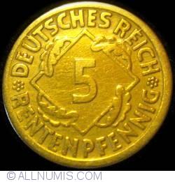 Image #1 of 5 Rentenpfennig 1924 J