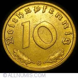 Image #1 of 10 Reichspfennig 1938 G