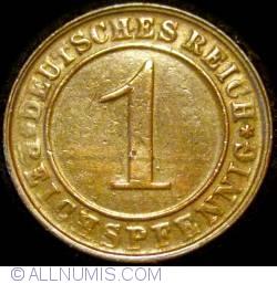 Image #1 of 1 Reichspfennig 1925 D