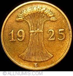Image #2 of 1 Reichspfennig 1925 E