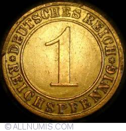 Image #1 of 1 Reichspfennig 1928 G