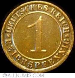 Image #1 of 1 Reichspfennig 1931 F