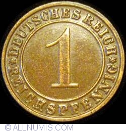 Image #1 of 1 Reichspfennig 1934 E