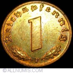 Image #1 of 1 Reichspfennig 1939 F