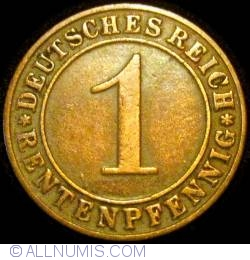 Image #1 of 1 Rentenpfennig 1923 D