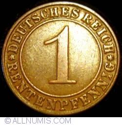 Image #1 of 1 Rentenpfennig 1923 J