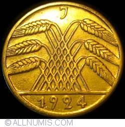 Image #2 of 10 Reichspfennig 1924 J