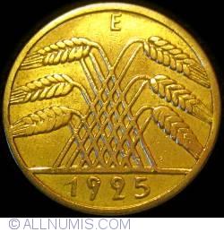 Image #2 of 10 Reichspfennig 1925 E