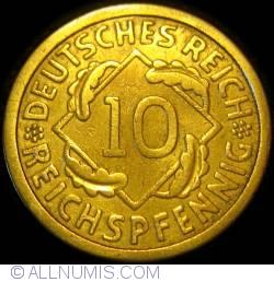 Image #1 of 10 Reichspfennig 1925 E