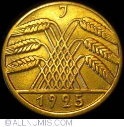 Image #2 of 10 Reichspfennig 1925 J