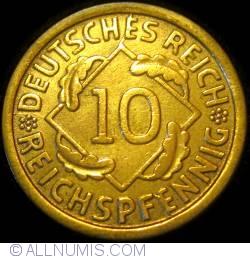 Image #1 of 10 Reichspfennig 1925 J