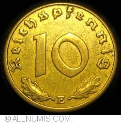 Image #1 of 10 Reichspfennig 1938 E