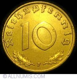 Image #1 of 10 Reichspfennig 1938 F