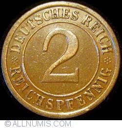 Image #1 of 2 Reichspfennig 1925 A
